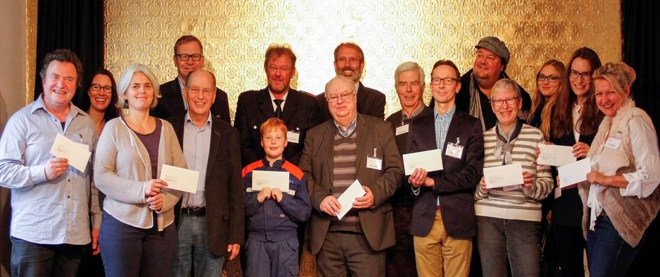 Haspa-Zweckertrag 2016: Großzügige Spender im November !